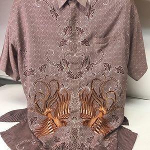 Men's Arthloka Stylish Design Short Sleeve Shirt